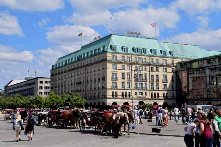 Am Pariser Platz in Berlin - Hotel Adlon