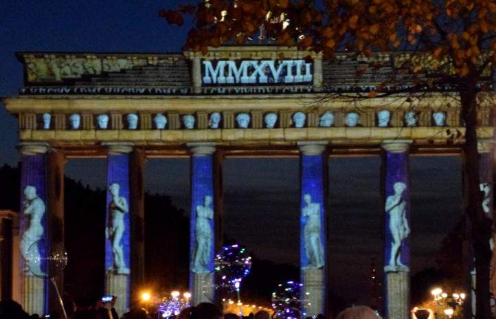 Festival of Lights am Brandenburger Tor - 2018