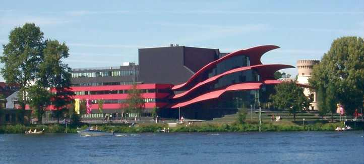 Hans Otto Theater an der Havel in Potsdam
