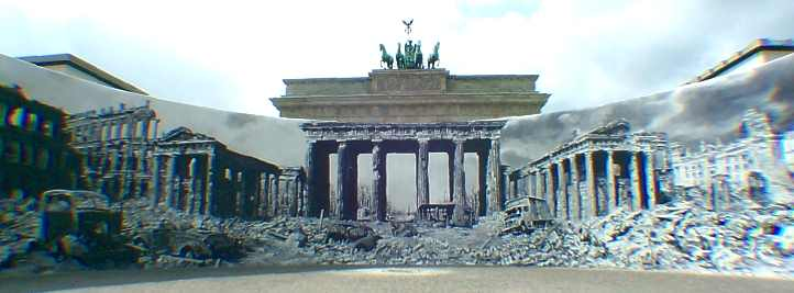 Kriegsende am Brandenburger Tor